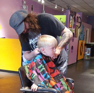 boy haircut kid and teen haircut
