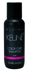 Keune travel-sized products